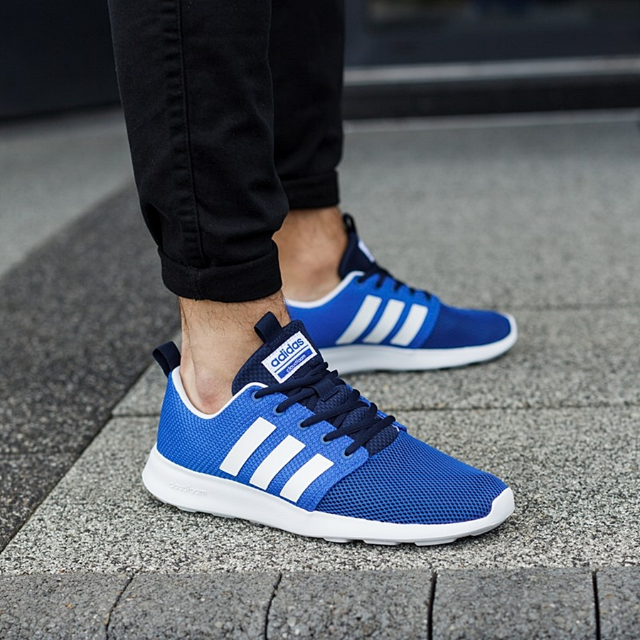 crazy price superior quality cheap price adidas cloudfoam swift racer blue